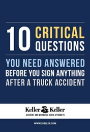 Truck Accident Guide Book