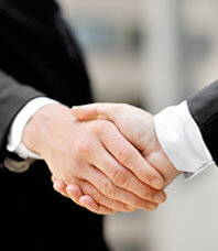 Attorneys Shaking Hands